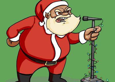 Angry Santa Open Mic