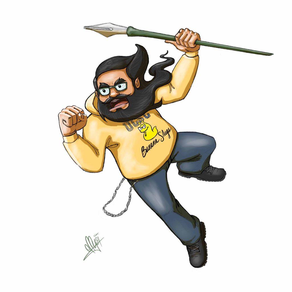 Banana Slug Warrior