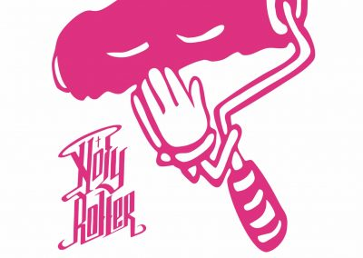 Holy Roller with Text