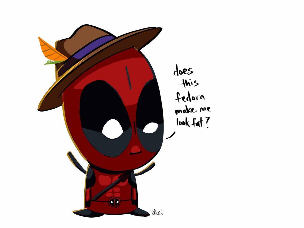 Deadpool with Fedora