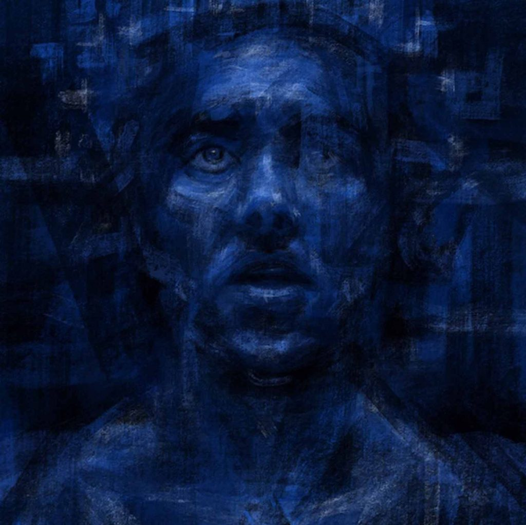 Blue is David